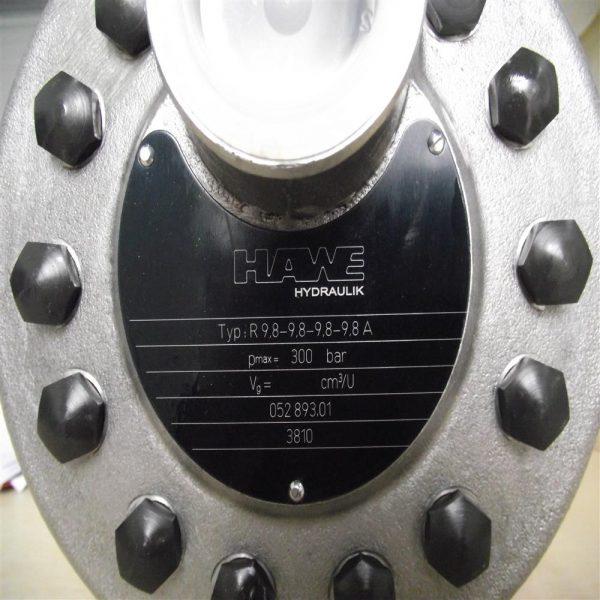 哈威柱塞泵R9.8-9.8-9.8-9.8A
