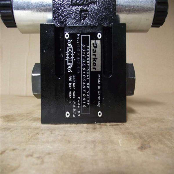 派克比例方向控制阀 D31FBE01CC4NF0010