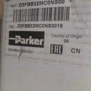 派克 比例阀 d3fbb32mc0ns03